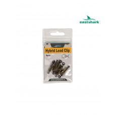 Клипса EAST SHARK Hybrid lead Clip уп/5шт 102018