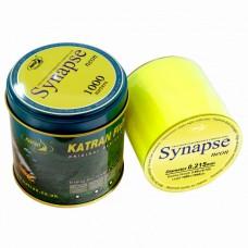 Леска KATRAN SYNAPSE NEON 1000m 0.309mm в банке