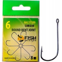 Крючок Fish Season FS ROUND BENT JOINT № 6 (8шт)